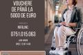 """Proiectul """"Facilitarea inserției pe piața muncii a persoanelor cu dizabilități"""" acorda vouchere de pana la 5000 de euro pentru achizitia unui produs asistiv pentru persoanele cu handicap"""
